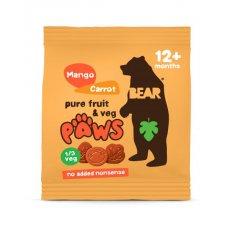 LABKY - SAFARI - mango a mrkva BIO 20g Bear nibbles