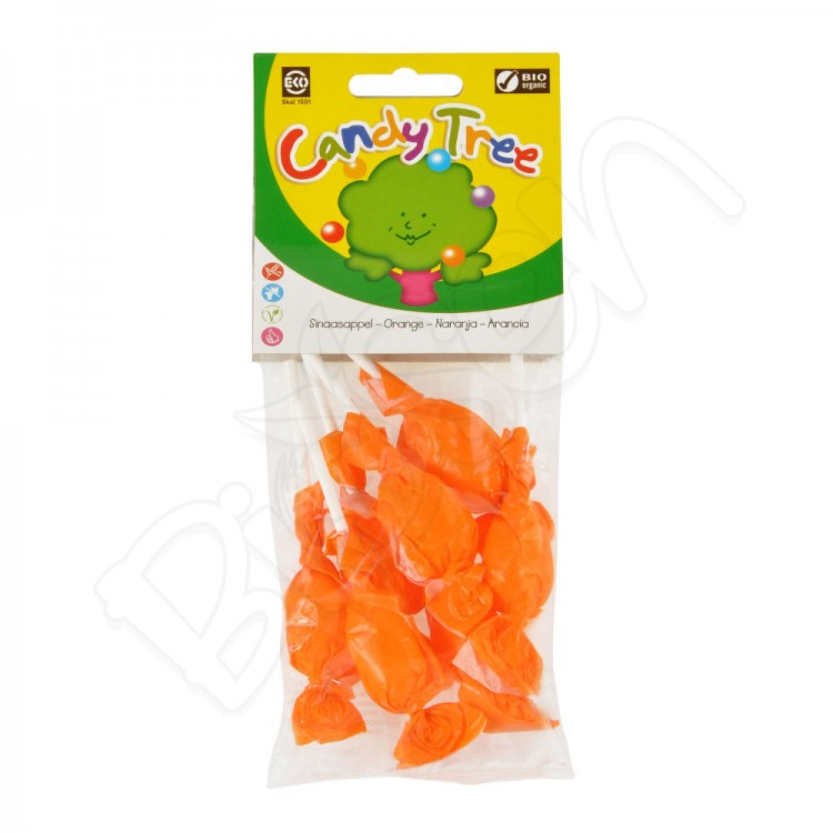 Lízatká - pomaranč BIO 70g Candy tree