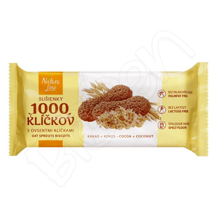 Sušienky 1000 klíčkov s ovsenými klíčkami 90g Nature Line