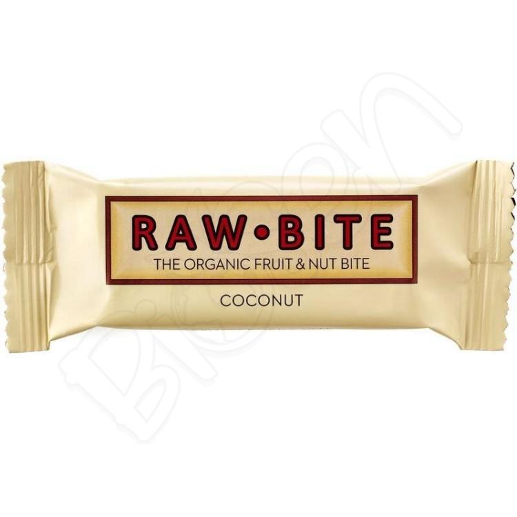 Tyčinka kokos BIO 50g RAW - BITE