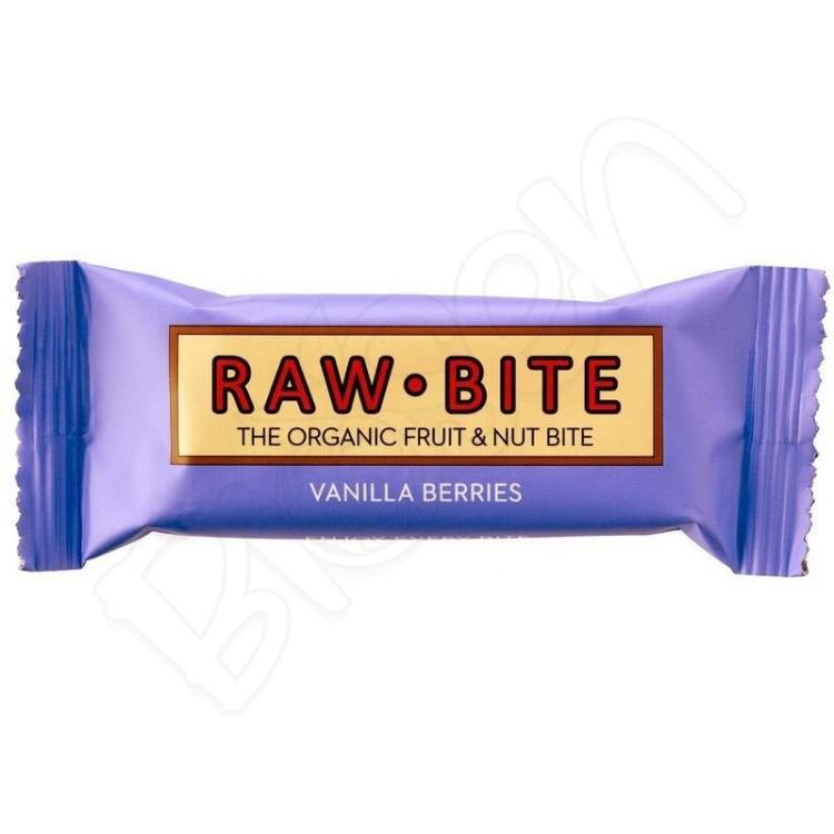 Tyčinka vanilka BIO 50g RAW - BITE