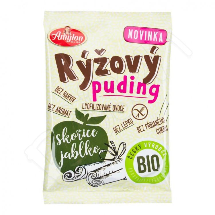 Puding ryžový JABLKO-ŠKORICA BZL BIO 40g Amylon
