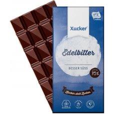 Horká čokoláda sladená xylitolom 75% 100g Xucker