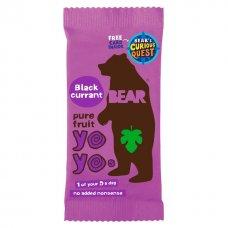 Bear želé YOYO - čierna ríbezľa 20g Bear nibbles