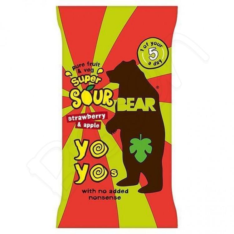 Bear želé YOYO - jahoda-jablko 20g Bear nibbles