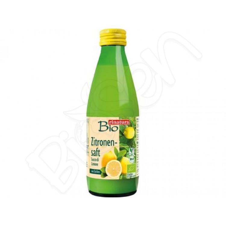 100% citrónová šťava BIO 250ml Rinatura