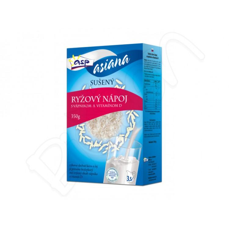 Sušený ryžový nápoj s vápnikom a vitamínom D 350g Asp