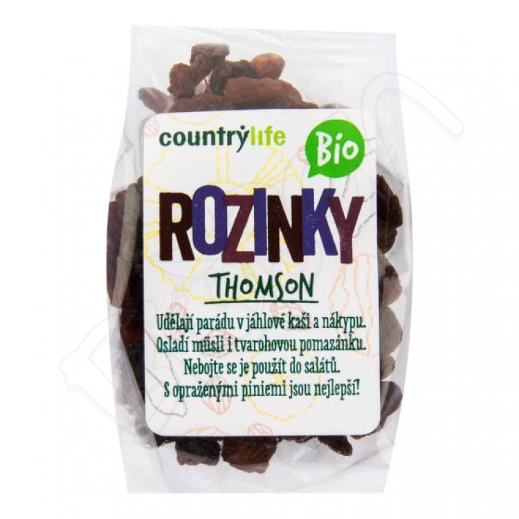 Hrozienka THOMSON BIO 100g Country Life