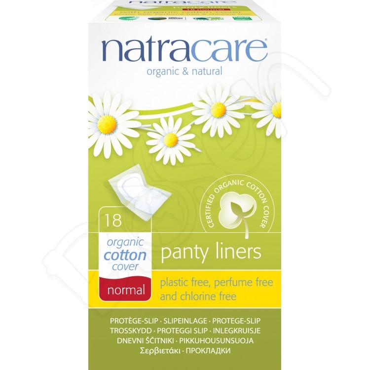 Ultra tenké slipové vložky Normal (jednotlivo balené) 18ks Natracare