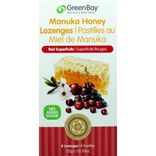 Pastilky Superfruits 12+ Active BIO RAW GreenBay