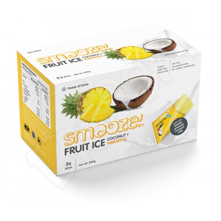 Zmrzlina kokos - ananás 65ml Smooze