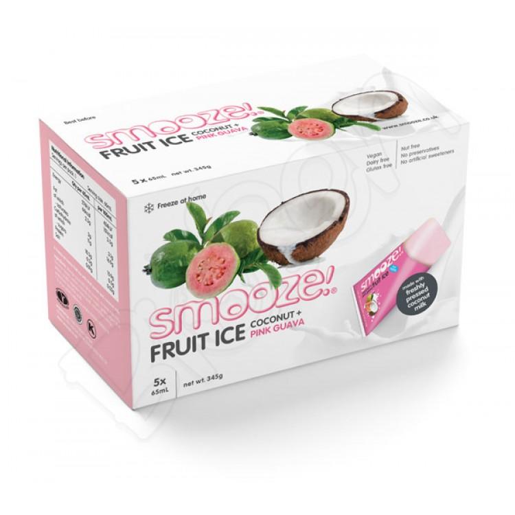 Zmrzlina kokos - guava 65ml Smooze